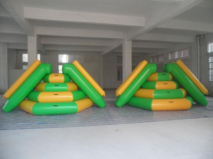 Giant Adult Inflatable Aqua Park , Fireproof PVC Inflatable Water Park Games