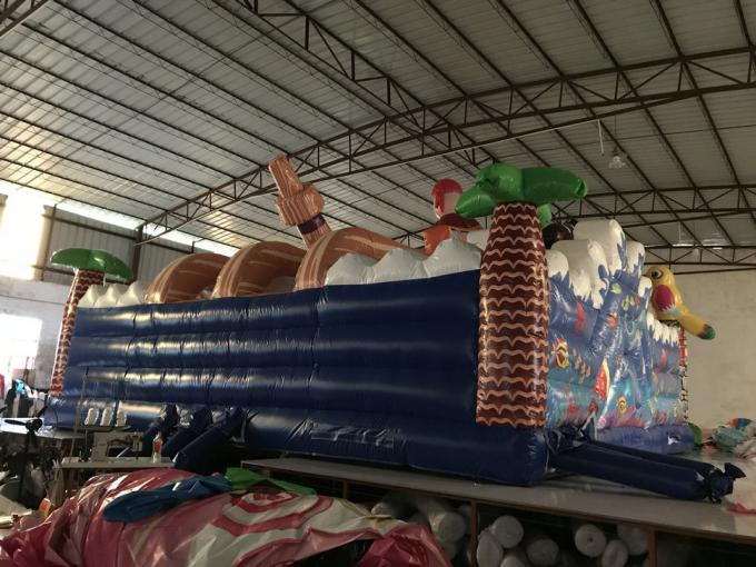 Hot inflatable pirate themed fun city big inflatable pirate topic fun amusement park inflatable pirate bouncer house