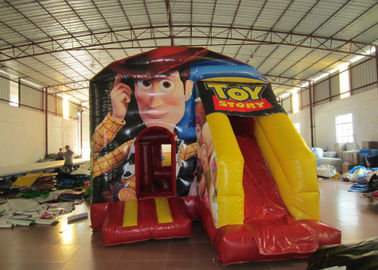 China Toy story themed inflatable combo disney woody inflatable small combo for children with digital printing supplier