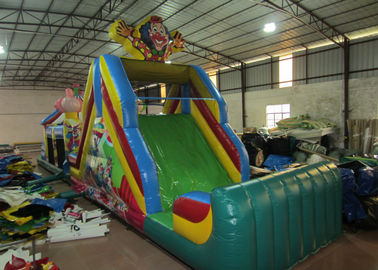 China Circus inflatable obstacle courses inflatable elephant obstacle course funny clown inflatable obstacle course supplier