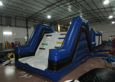 China Newest inflatable cow themed obstacle courses interactive outdoor inflatable obstacle course for sale supplier