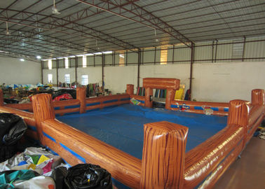 China Inflatable Bull Ring 10 X 10m , Blow Up / Inflatable Sports Arena Bounce House supplier