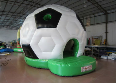 China Waterproof PVC Kids Inflatable Bounce House / Classic Inflatable Football Bouncy Castle supplier