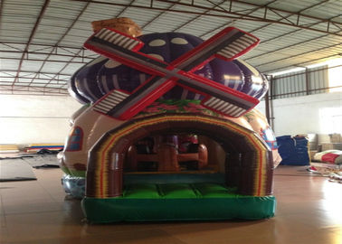 China Commercial Inflatable Bouncer 3 X 4 X 5m , Silk Printing Minnie Mouse Bounce House supplier