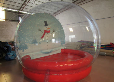 China Outdoor Inflatable Christmas Decorations Crystal Ball Airtight Dia3m Pvc Tarpaulin supplier