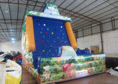 China Amument Park Inflatable Rock Climbing Wall Mountain Sports Games 5 X 4 X 6m supplier