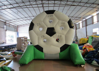 China High Durability Inflatable Football Games waterproof PVC inflatable football shooting games supplier