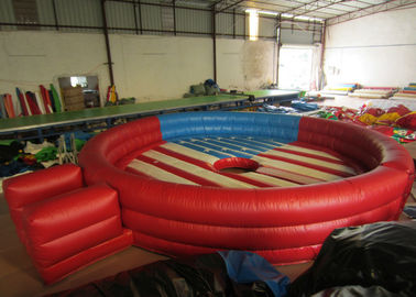 China Amusement Park Inflatable Sports Games Round Blow Up Sports Arena Dia.6m Customized supplier