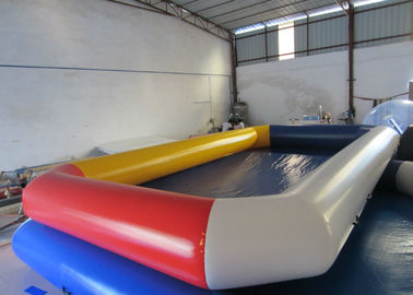China Water Park Adult Inflatable Water Games Rectangle Big Blow Up inflatable Pools for water games supplier