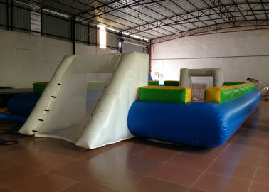 China Waterproof PVC fabric Inflatable football Soccer Field Big Party Inflatable Soccer pitch for ball game supplier