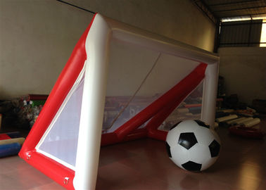 Children Inflatable Football Games Airtight inflatable goal for football games Children football score games
