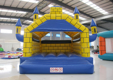 China Digital Printing Indoor Jump House , Party Children'S Bounce House 5 X 6m Fire Resistance supplier