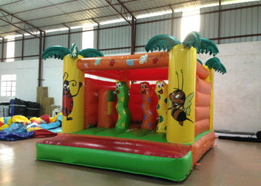 China Indoor Playground Kids Inflatable Bounce House 4 X 3.5m 0.55mm Pvc Tarpaulin Nontoxic supplier