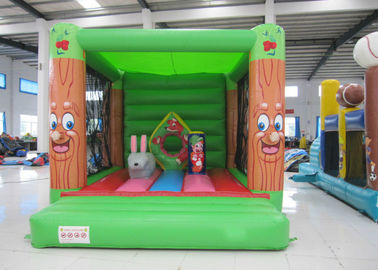 China Fireproof Materials Kids Jump House , Commercial Indoor Inflatable Bouncer 3 X 4m supplier
