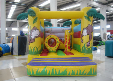 China Standard  Kids Inflatable Bounce House Castle Happy Jump Bounce 3 X 3.5 X 3m EN14960 supplier
