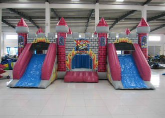 China Full painting inflatable castle bouncy house PVC material inflatable castle jumping house middle size inflatable jumping supplier