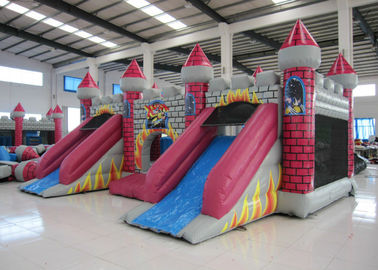 Full painting inflatable castle bouncy house PVC material inflatable castle jumping house middle size inflatable jumping