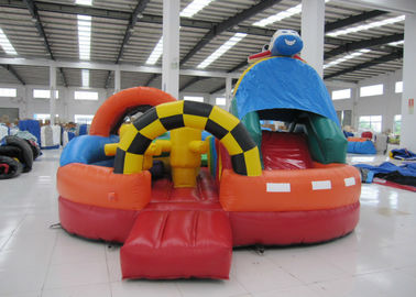 China Giant Inflatable Air Plane Children'S Bounce House , Fun City Outdoor Bounce House supplier