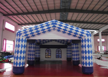 China Customized Inflatable Dome Marquee , Commercial Inflatable Trade Show Display supplier