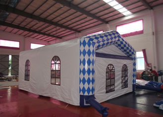 Customized Inflatable Dome Marquee , Commercial Inflatable Trade Show Display