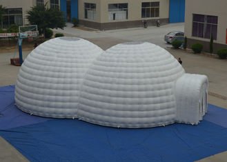 Exhibition Blow Up Tailgate Tent Fire Resistance , Outdoor Games Blow Up Igloo Tent