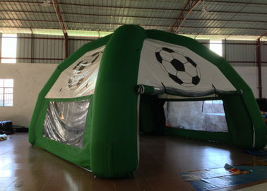 Green Footable Inflatable Event Tent Digitally Printed Wind Resistant Safe Nontoxic