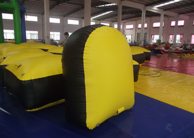 Kindergarten Baby Inflatable Paintball Bunkers 1.2 X 0.6 X 1.5m 0.9mm Pvc Tarpaulin