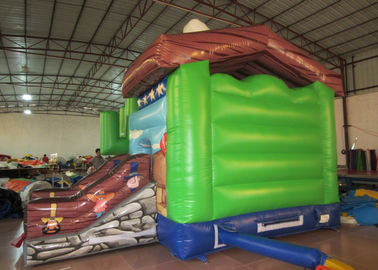 Kindergarten Baby Custom Made Inflatables Cowboy 5 X 4 X 4m Double Stitching