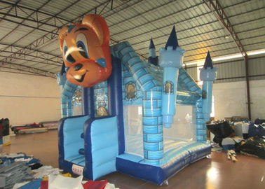 Cartoon Commercial Bounce House , Attractive Inflatable Bounce House 5 X 5m