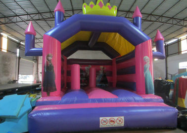 China Colourful Kids Custom Made Inflatables Fire Resistance 0.55mm Pvc Tarpaulin supplier
