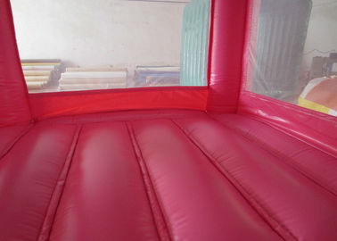 Colourful Custom Inflatable Big Bouncy Castle Kids Indoor Inflatable Bouncer Fire Resistance PVC