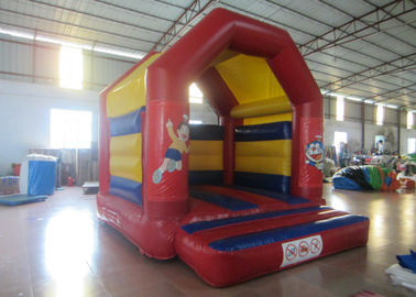 China Indoor Inflatable Bounce House , Big Party Bounce House With Slide 3.5 X 3.5m supplier