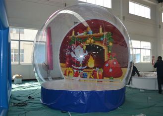 China Advertising Christmas Yard Inflatables Ball , Inflatable Outdoor Christmas Decorations supplier