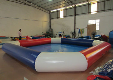 China Adult Outdoor Inflatable Family Pool , Durable Funny / Cool Pool Inflatables 10 X 10m supplier