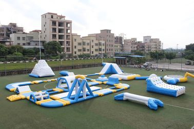 Giant Outdoor Inflatable Water Park Customized Size CE UL SGS airtight water games on sale