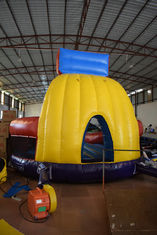 PVC Material Inflatable Sport Games , Exciting Slam Dunk Inflatable Basketball Game
