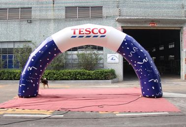 China Waterproof Small Inflatable Arch For Commercial Activities Customized Color supplier