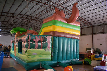 Commercial Squirrel Standard Dry Slide Inflatable Kangaroo Fun City For Children