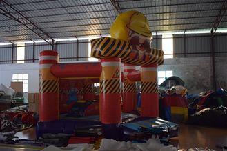 Small Size 0.55mm PVC Tarpaulin Inflatable Jump House / Kids Jumping Castle
