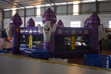 China Fun Inflatable Sports Games / Interesting Halloween Round Inflatable Whac - A - Mole Games supplier