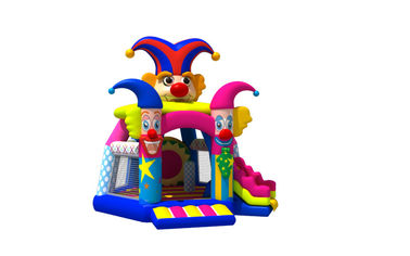 China 2019 New Design Inflatable Clown Jumping House Digital Printing Inflatable Clown Bouncy House For Sale supplier