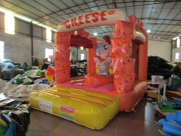 China Lovely Kids Inflatable Bounce House / Mini Size Inflatable Cheese supplier