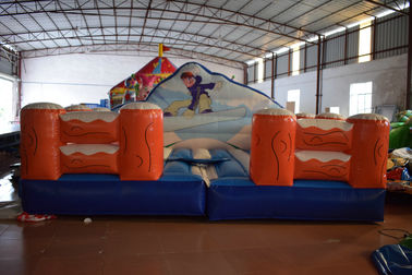 Exciting Inflatable Sport Games Size 5x5m / Inflatable Skiing Games Inflatable Simulated Surfing Games