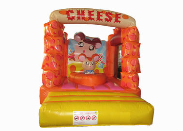 China Lovely Kids Inflatable Bounce House / Mini Size Inflatable Cheese bouncer supplier