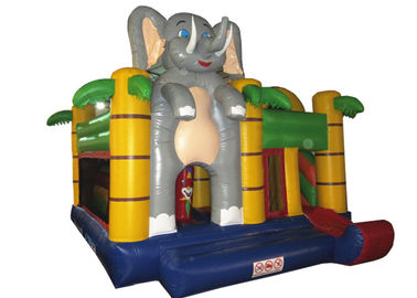 China New elephant inflatable combo classic inflatable elephant combo on sale inflatable bouncer combo supplier