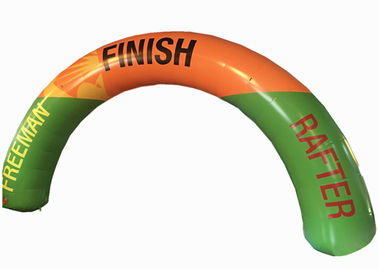 China Customized Inflatable Arch , Inflatable Race Arch Inflatable Advertising Arch supplier