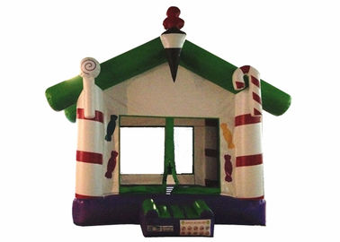 China Simple Inflatable Ice Cream Bouncer / Inflatable Candy Bouncer House With Roof supplier