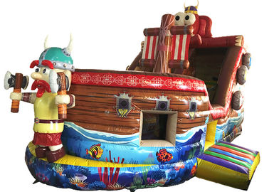 China Durable Inflatable Pirate Boat / Commercial Inflatable Pirate Boat Family Use supplier