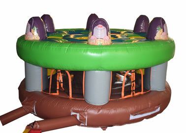 China Ground Inflatable Sports Games , Inflatable Family Party Outdoor Games supplier