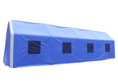 China Big Inflatable Movable Tent Durable / Airtight Pvc Tent Outdoor Inflatable Medical Tent 0.6mm supplier
